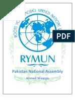Pakistan National Assembly Study Guide PNA