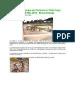Intercolegiados de Ciclismo en Pista Copa INDERBU 2012