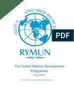 Study Guide Undp Rymun