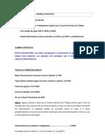 Modelo de Liquidacion Laboral