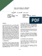 Sem.org IMAC XIII 13th 13 Add 3 Experimental Evaluation Vibrations Operating Offshore Platform
