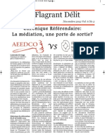 Flagrant Delit- Edition Novembre 2012