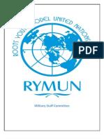 Rymun Study Guide Msc Final