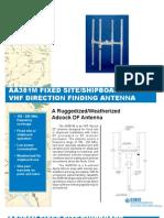 Cubic AA381M DF Antenna