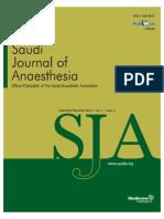 Cisatracurium in Different Doses Versus AtracuriumSaudiJAnaesh
