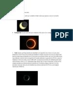 Existen Cuatro Tipos de Eclipse Solar