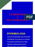 Litiasis Biliar y Sus Complicaciones1