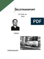 Der Geldtransport (German