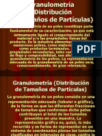 Granulometría (Distribución)Presentación2solidos 2009-II