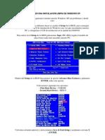 Como Instalar Windows XP Desde Cero