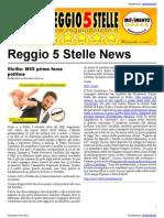 Reggio 5 Stelle News 02-Nov-2012
