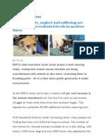 Urgent animal welfare crisis