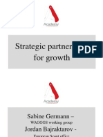 Strategic Partnership for Growth - Presentation