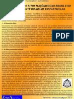 A Pluralidade dos Ritos Maçônicos no Brasil e no GOB em Particular