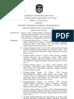 Peraturan Daerah Kabupaten Luwu Timur Nomor 33 Tahun 2011 Tentang Retribusi Pengendalian Menara Telekomunikasi