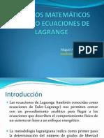 MODELOS MATEMÁTICOS  USANDO ECUACIONES DE LAGRANGE.pptx