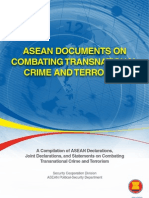 ASEAN Documents on Combating Transnational Crime and Terrorism