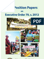 ATM Position Papers on EO 79, s. 2012_August 2012