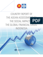 COUNTRY REPORT OF THE ASEAN ASSESSMENT ON THE SOCIAL IMPACT OF THE GLOBAL FINANCIAL CRISIS
