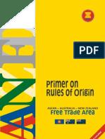 Primer on Rules of Origin