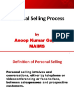 1 Personal Selling Process and Approaches