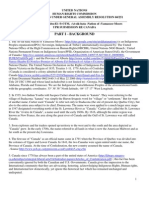 ASHNYM UNITED NATION UPR Report Canada