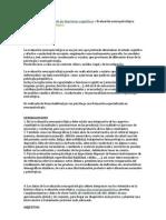 Bases neurobiológicas de las funciones cognitivas» Evaluación neuropsicológica