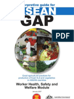 ASEAN GAP Workers Health Safety and Welfare Module