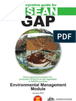 ASEAN GAP Environmental Management Module