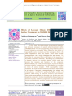Effects of Layered Silicate Fillers and Their Surface Treatments in NR/BIIR Blend