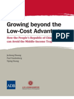 Growing Beyond the Low-Cost Advantage