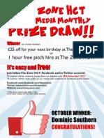 October Social Winner