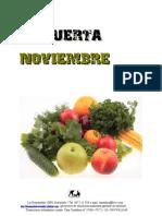 La Huerta en Noviembre