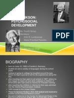 Erik Erikson Psychology