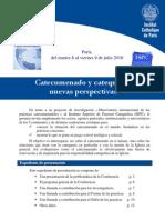 Actu-pgm_ISPC_Catecumenado y Catequesis, Nuevas Perspectivas_2010070609[1]