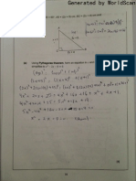 Correction Form 3 National Assessment Mathematics 2012 Question 17 to Question 19