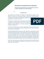 EL JUEGO COMO ESENCIA EN LA DISMINUCIÓN DE LA AGRESIVIDA1