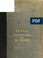 Contributions to the Apocryphal Literature - William Wright