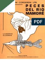 Lauzanne L. Loubens G. Peces del río Mamoré (1985)