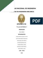 LABORATORIO N°05 (Informe Flujo Interno I)