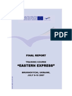 "TC ""Eastern Express"". Ukraine"