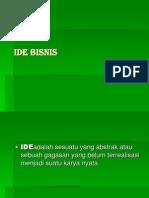 Slide Ide Bisnis