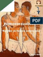 Homossexualidade, Kardec já falava sobre isso
