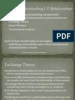 04 Models for Understanding I.P. Relationships