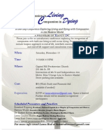 Conference Compassion In Living and Dying