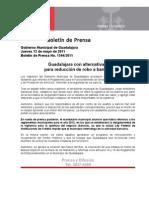 12-05-2011 Guadalajara con alternativas para reducción de robo a bancos