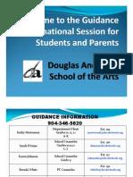 Underclassman Parent Night Presentation 2012-2013