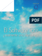 El Software Libre. ¿Realmente una alternativa¿