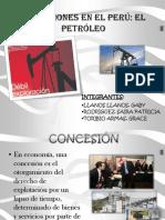 CONCESIONES EN EL PERÚ