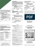 Bulletin - 20121104 Comm